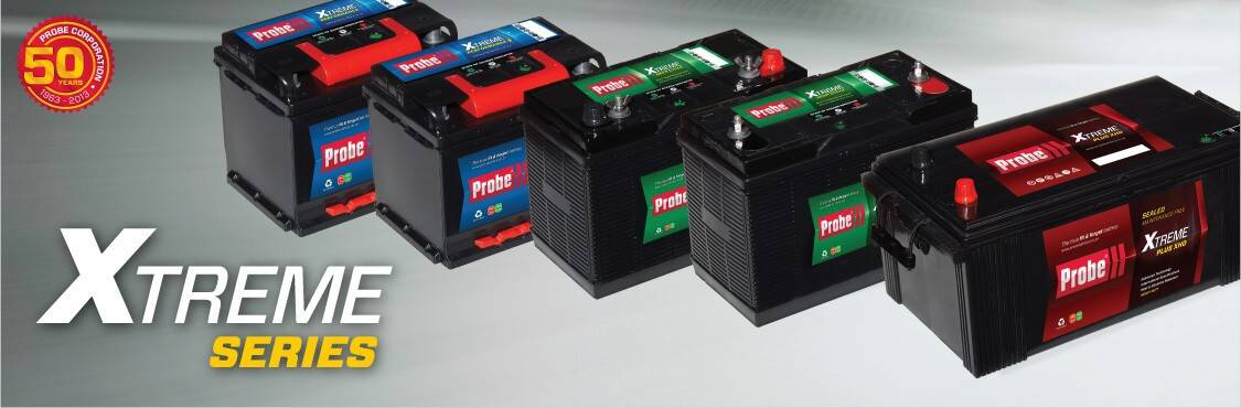 Probe battery range