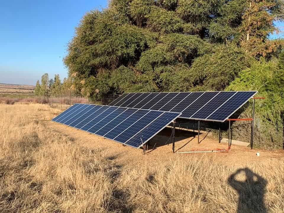Bfo Solar Ground Panel Installations